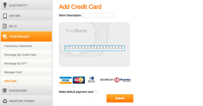 add credit card