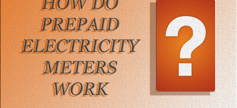 How do prepaid electricity meters work?