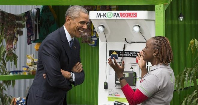 Providing electricity in Africa:  Obama's new plan!