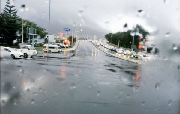 Cape Town welcomes the much-needed rain.
