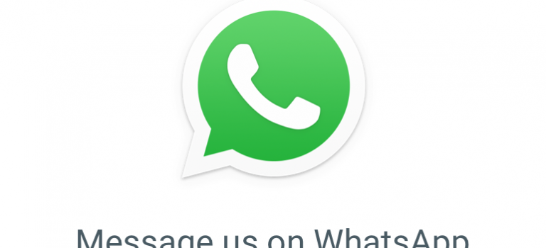 WhatsApp now Support: Get in touch with us!